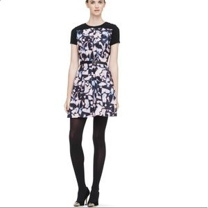 • Club Monaco • Charis Printed Mini Dress Black 00